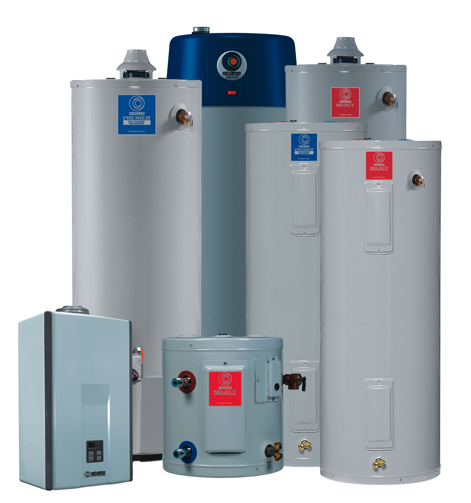 Water Heaters | Capital Plumbing, Inc.